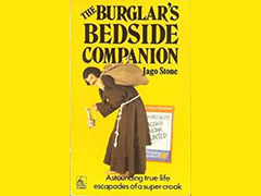 Autobiography by Jago Stone - The Burglar's Bedside Companion - 1975