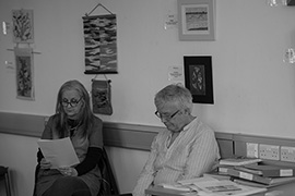 Louise and Rob Donovan - St Ives Library - May 2016