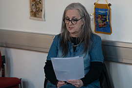 Louise Donovan - St Ives Library - May 2016
